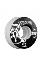 Bones STF Pro Raybourn Oh Gee - White - 52mm - Skateboard Wheels