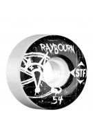 Bones STF Pro Raybourn Oh Gee - White - 54mm - Skateboard Wheels