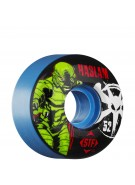 Bones STF Pro Haslam Lagoon Wheel - Blue - 52mm - Skateboard Wheels