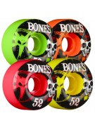 Bones Party Pack Streettech V1 - 52mm - Multi - Skateboard Wheels