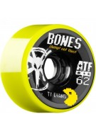 Bones ATF Filmer Ty Evans - Yellow - 62mm - Skateboard Wheels
