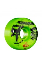 Bones STF Pro Bingaman Tea - Green - 51mm - Skateboard Wheels