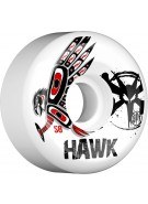 Bones SPF Pro Hawk Spirit - White - 58mm - Skateboard Wheels