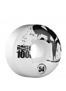 Bones O.G. 100 V1 - 54mm - White - Skateboard Wheels