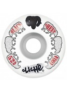 Cliche Black Sheep Standard Wheel - White/Black - 56mm - Skateboard Wheels