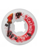 OJ 50mm Screwdrivers II White 100a - Skateboard Wheels