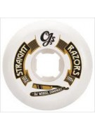 OJ 51mm Straight Razor White - Skateboard Wheels