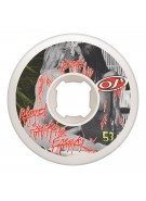 OJ Blood Sucking Freaks - White - 53mm 101a - Skateboard Wheels