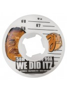 OJ 50mm We Did Itz White 99a - Skateboard Wheels