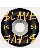 Slave Corporate - Black/Yellow - 51mm - Skateboard Wheels