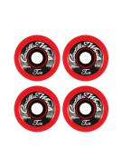 Cadillac Classic 2, 70/80a, Red Wheels, Set of 4 - Skateboard Wheels