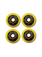Cadillac Classic 2, 70/80a, Yellow Wheels, Set of 4 - Skateboard Wheels