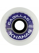 Cadillac Khana - White - 70mm/83a - Skateboard Wheels
