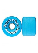 Seismic Bootleg Wheels, 70mm, 84A, Blue Opaque - Skateboard Wheels