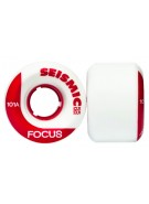 Seismic Focus - White - 55mm/101a - Skateboard Wheels