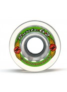 Kryptonics Route - Clear - 62mm - Skateboard Wheels