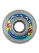 Kryptonics Route - Clear - 65mm - Skateboard Wheels