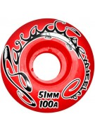 Paradise Wheels Hand Style - Red - 51mm - Skateboard Wheels
