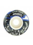 Paradise Wheels Save Our Paradise Cruiser - 55mm - Skateboard Wheels