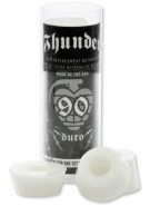Thunder Bushing Tube - 90du - White - Skateboard Bushings