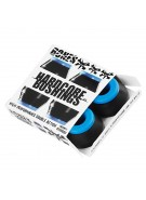Bones Bushings Hardcore #2 - Soft - Black - Set of 4 - Skateboard Bushings