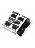 Bones Bushings Hardcore #2 - Hard - Black - Set of 4 - Skateboard Bushings