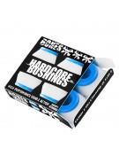Bones Bushings Hardcore #2 - Soft - White - Set of 4 - Skateboard Bushings