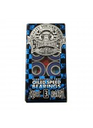 Speed Demons ABEC 3 Bearing Blue 8 Pack - Skateboard Bearings