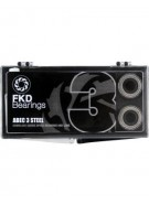 FKD Clear Case Abec 3 - Skateboard Bearings