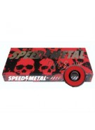 Speed Metal Abec 5 Bearing Set - Skateboard Bearings
