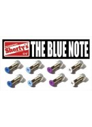 "Shorty's 1"" Blue Note Set - Skateboarding Mounting Hardware"