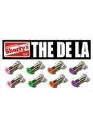 "Shorty's 1"" De La Set - Skateboarding Mounting Hardware"