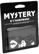 Mystery Bolts 1'' Allen - Black - Skateboard Mounting Hardware