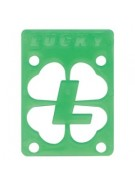 Lucky (Single Riser) - 1/8 inch - Green - Skateboard Riser