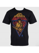 Jimi Hendrix Diamonds In The Dust - Black - Band T-Shirt