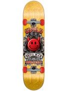 World Industries Devilman Crest - Red - 7.5 - Complete Skateboard