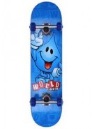 World Industries Ransom Wet Willy - Blue - 7.6 - Complete Skateboard