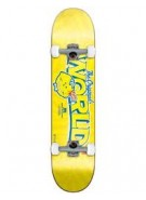 World Industries Lemon Slice - Yellow - 7.9 - Complete Skateboard