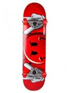 World Industries Peeking Devilman - Red - 7.6 - Complete Skateboard