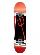 World Industries Stamp Pichfork - Black/Red - 7.87 - Complete Skateboard