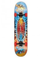 World Industries Battle Art 2012 Mid - Blue - 7.37 - Complete Skateboard