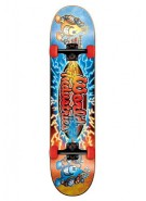 World Industries Battle Art 2012 Mini - Blue - 7 - Complete Skateboard
