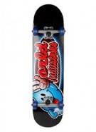 World Industries Looney Wet Willy Mini - Black - 7 - Complete Skateboard