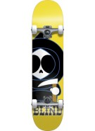 Blind Classic Kenny Mid - Yellow - 7.3 - Youth Complete Skateboard