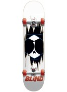Blind Redrum Kenny Youth Complete - White/Black - 7.4 - Complete Skateboard