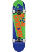 Alien Workshop Dyrdek Headline - Blue/Green - 7.75 - Complete Skateboard
