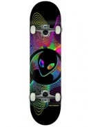 Alien Workshop Spirogyro - Black - 7.875 - Complete Skateboard