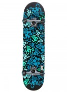 Speed Demons Hawaiian Dream PP Complete - Complete Skateboard - Blue / Green - Full 7.5