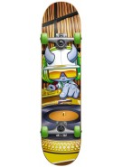 Speed Demons Skateboards DJ Youth Complete - Yellow - 7.5 - Complete Skateboard