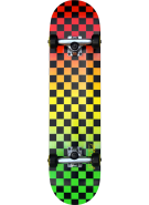 Speed Demons Fades Checks PP Complete - Rasta - 7.8 - Complete Skateboard